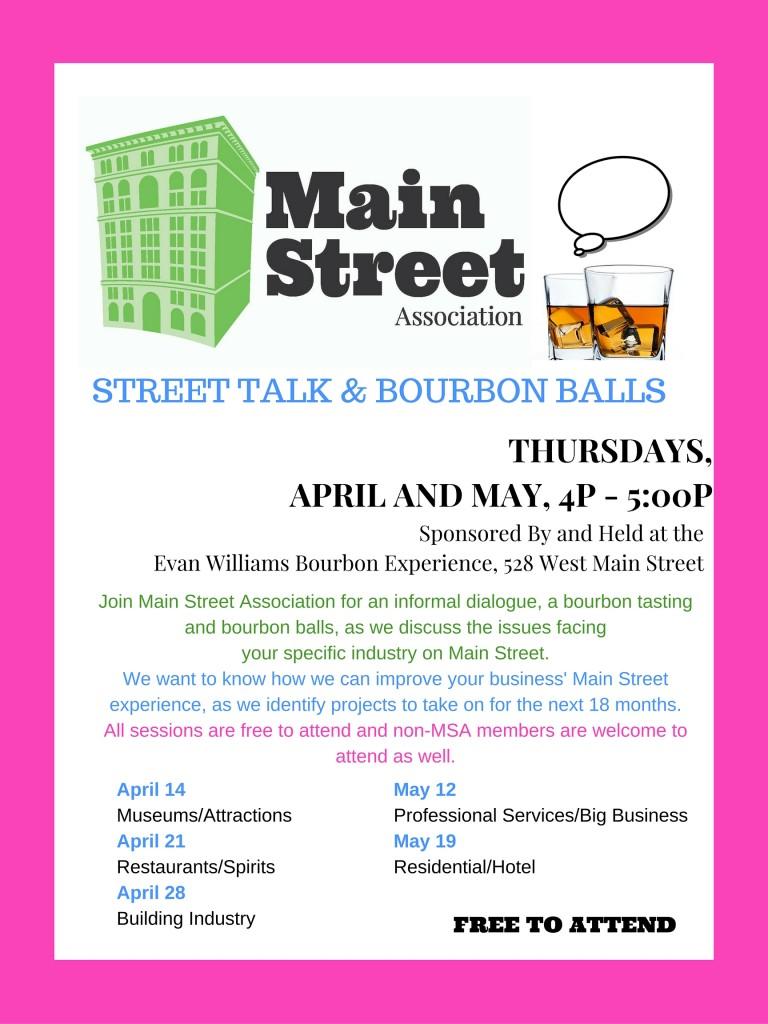 Main Street Street Talk Bourbon BallsALLSESSIONS